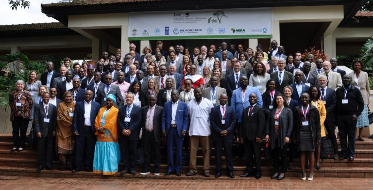 Participants at the GEF Integrated Approach Programme workshop held from 8-11 May 2018 in Nairobi, Kenya. Photo: World Agroforestry Centre/Susan Onyango