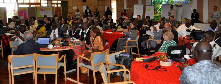 Participants at the closing session of the workshop. Photo: World Agroforestry Centre/Susan Onyango